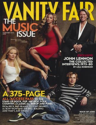 November 2001 | Vanity Fair