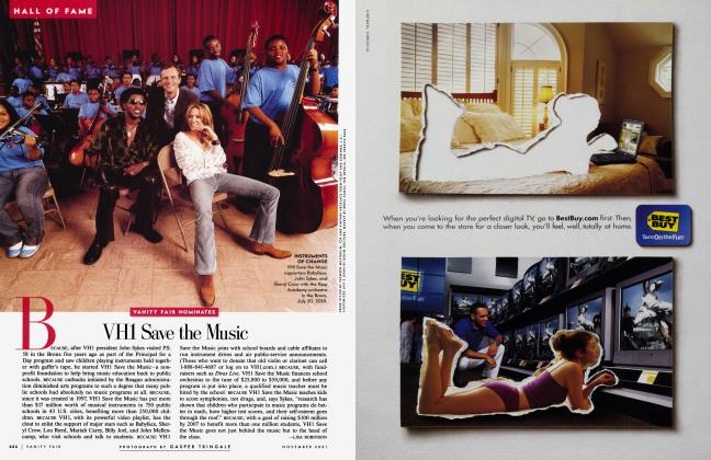 Article Preview: VH1 Save the Music, November 2001 2001 | Vanity Fair
