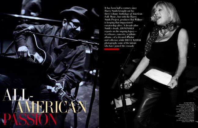 Article Preview: ALL-AMERICAN PASSION, November 2001 2001 | Vanity Fair