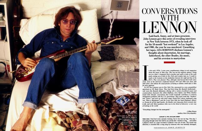 CONVERSATIONS WITH LENNON