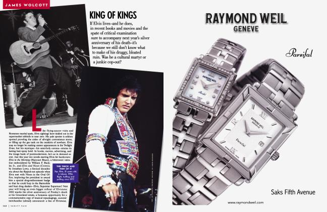 Article Preview: KING OF KINGS, November 2001 2001 | Vanity Fair