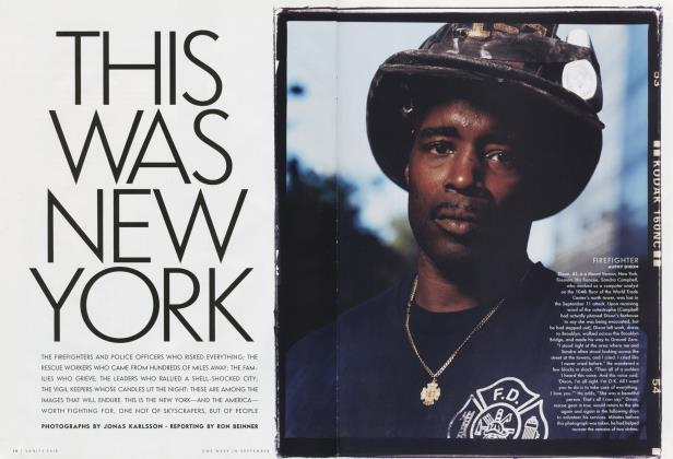 Article Preview: THIS WAS NEW YORK, November 2011 2001 | Vanity Fair