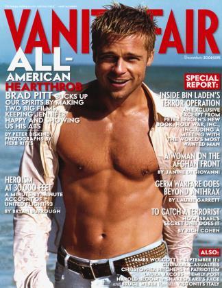 December 2001 | Vanity Fair