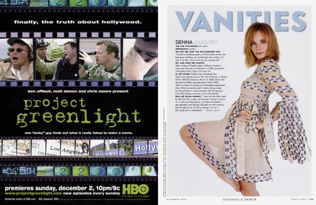Article Preview: SIENNA GUILLORY, December 2001 2001 | Vanity Fair