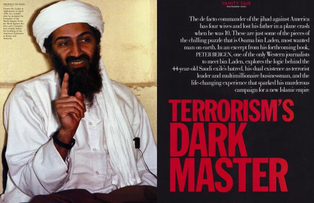 Article Preview: TERRORISM'S DARK MASTER, December 2001 2001 | Vanity Fair