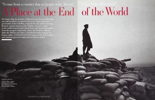Article Preview: A Place at the End of the World, December 2001   Vanity Fair