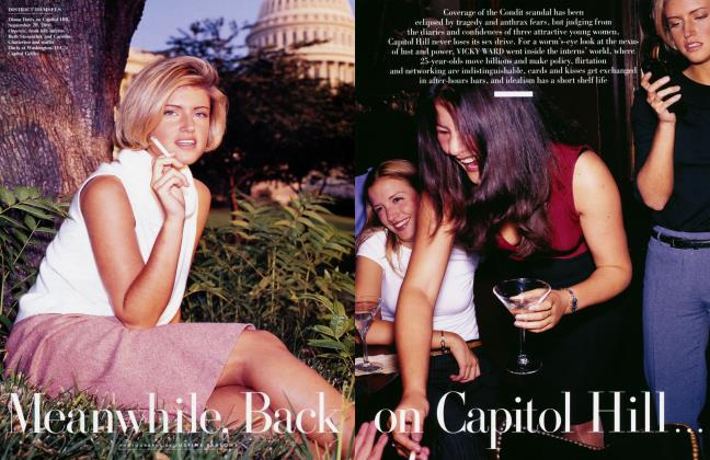 Article Preview: Meanwhile, Back on Capitol Hill, December 2001   Vanity Fair