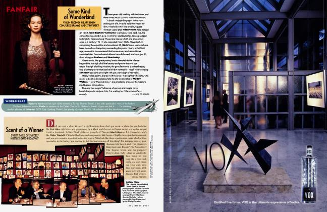 Article Preview: Some Kind of Wunderkind, December 2001 2001   Vanity Fair