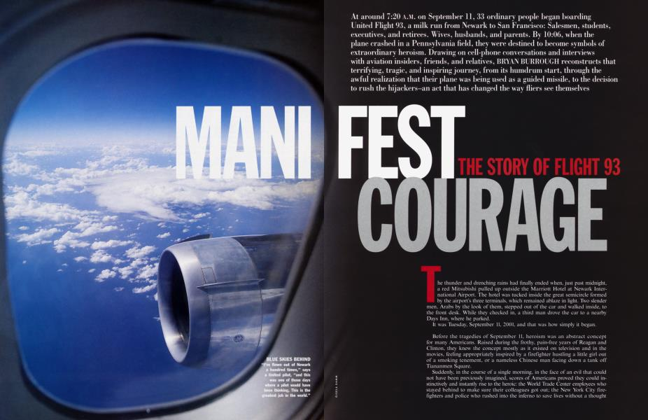 MANIFEST COURAGE THE STORY OF FLIGHT 93