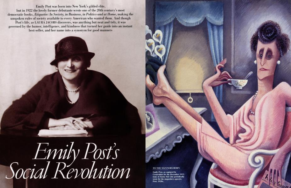 Emily Post's Social Revolution