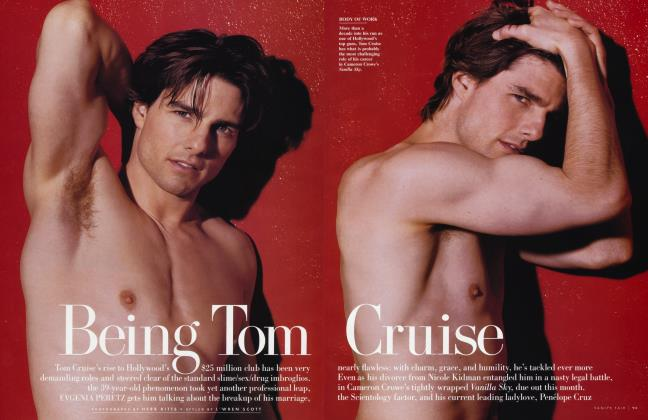 Article Preview: Being Tom Cruise, January 2002 2002 | Vanity Fair