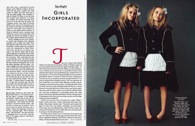 Article Preview: GIRLS INCORPORATED, January 2002 2002 | Vanity Fair
