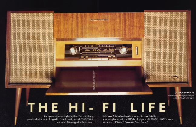 Article Preview: THE HI-FI LIFE, January 2002 2002 | Vanity Fair