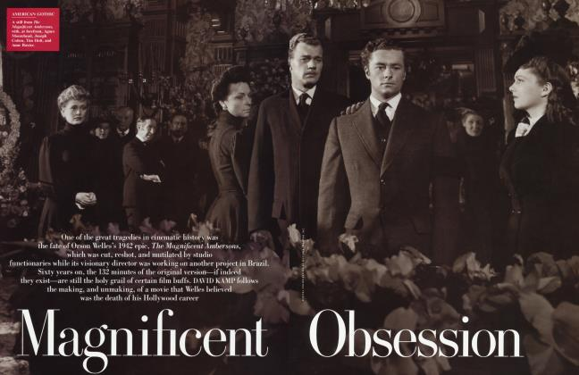 Article Preview: Magnificent Obsession, January 2002 2002 | Vanity Fair