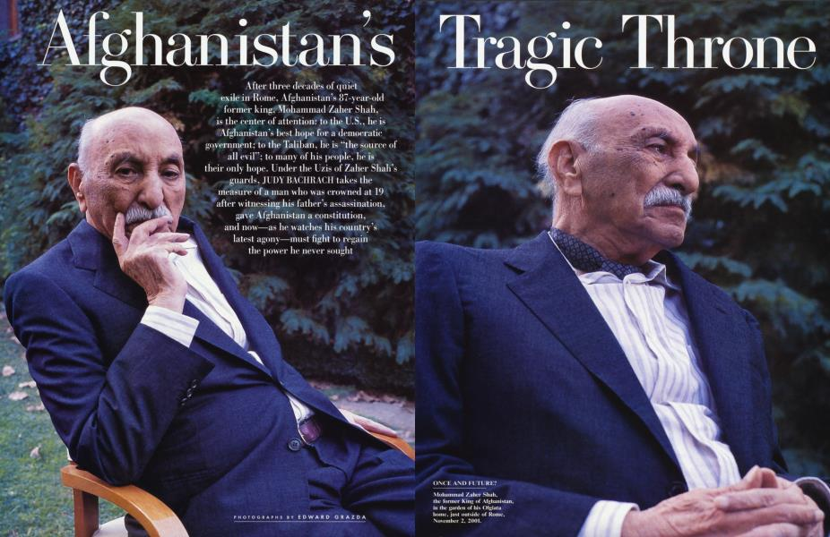 Afghanistan's Tragic Throne