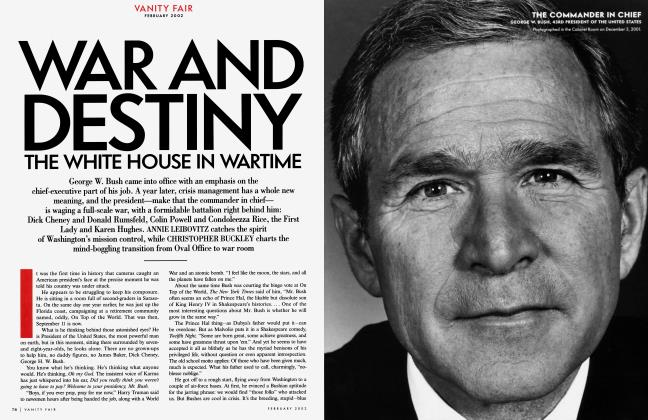 Article Preview: WAR AND DESTINY THE WHITE HOUSE IN WARTIME, February 2002 2002 | Vanity Fair
