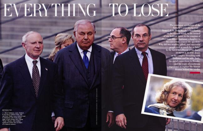 Article Preview: EVERYTHING TO LOSE, February 2002 2002 | Vanity Fair