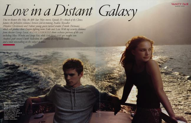Article Preview: Love in a Distant Galaxy, March 2002 2002 | Vanity Fair