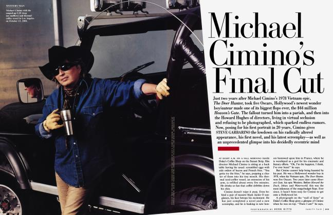 Article Preview: Michael Cimino's Final Cut, March 2002 | Vanity Fair