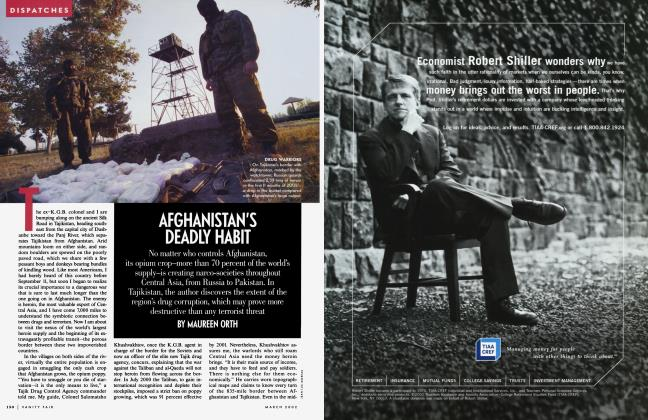 Article Preview: AFGHANISTAN'S DEADLY HABIT, March 2002 | Vanity Fair
