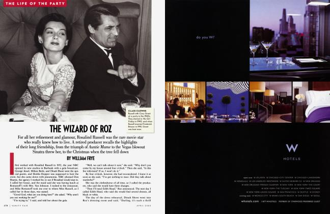 Article Preview: THE WIZARD OF ROZ, April 2002 2002 | Vanity Fair