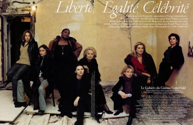 Article Preview: Liberté, Égalité, Célébrité, April 2002 2002 | Vanity Fair