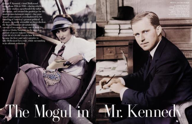 Article Preview: The Mogul in Mr. Kennedy, April 2002 | Vanity Fair