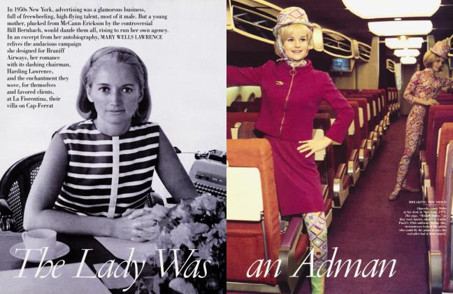 Article Preview: The Lady Was an Adman, May 2002 2002 | Vanity Fair