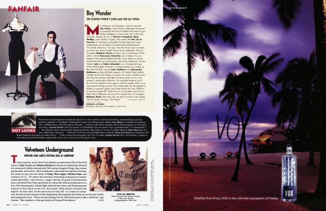 Article Preview: Boy Wonder, May 2002 2002 | Vanity Fair