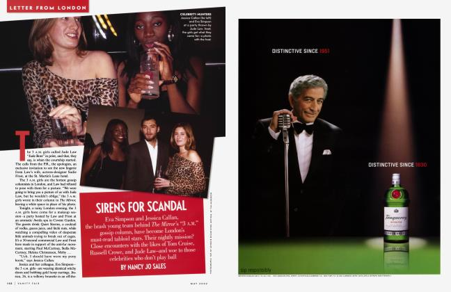 Article Preview: SIRENS FOR SCANDAL, May 2002 2002 | Vanity Fair