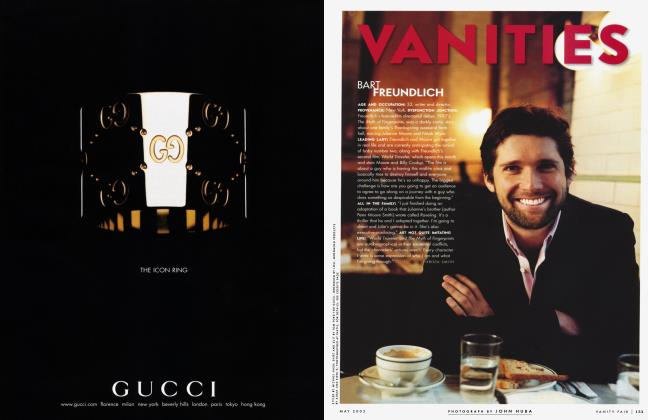Article Preview: BART FREUNDLICH, May 2002 2002 | Vanity Fair