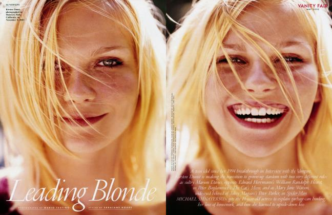 Article Preview: Leading Blonde, May 2002 2002 | Vanity Fair