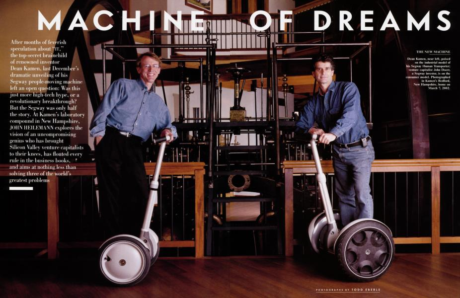 MACHINE OF DREAMS