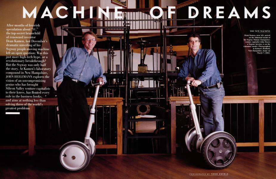 MACHINE OF DREAMS