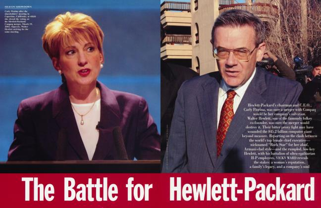 The Battle For Hewlett-Packard