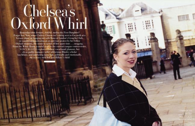 Article Preview: Chelsea's Oxford Whirl, June 2002 2002 | Vanity Fair