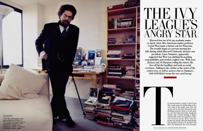 Article Preview: THE IVY LEAGUE'S ANGRY STAR, June 2002 | Vanity Fair