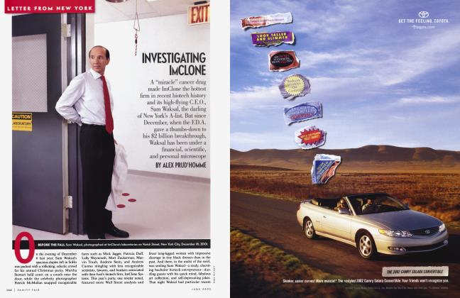 Article Preview: INVESTIGATING IMCLONE, June 2002 | Vanity Fair
