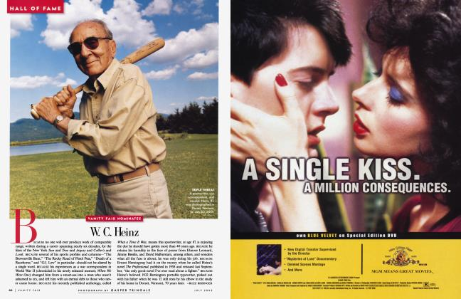Article Preview: W. C. Heinz, July 2002 2002 | Vanity Fair