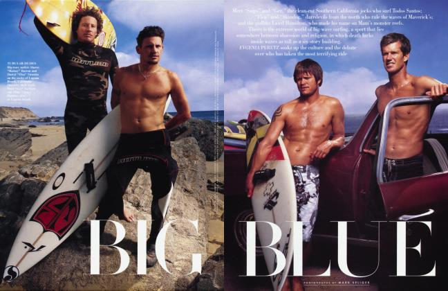 Article Preview: BIG BLUE, July 2002 | Vanity Fair