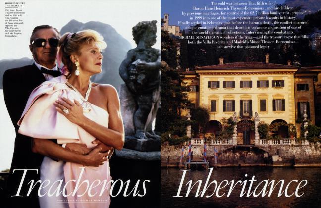 Article Preview: Treacherous Inheritance, August 2002 | Vanity Fair