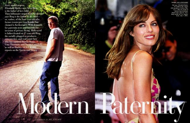 Article Preview: Modern Paternity, August 2002 2002 | Vanity Fair