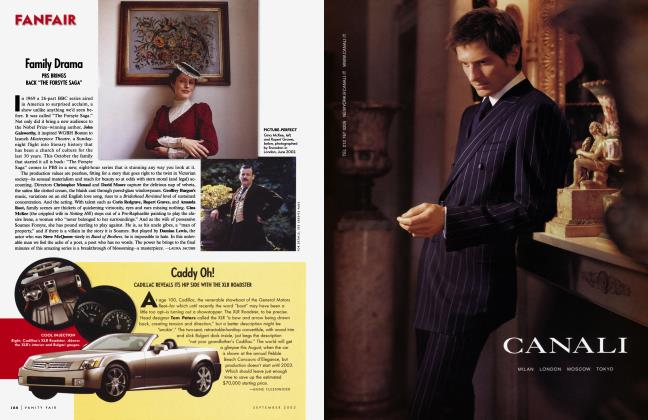 Article Preview: Caddy Oh!, September 2002 2002   Vanity Fair