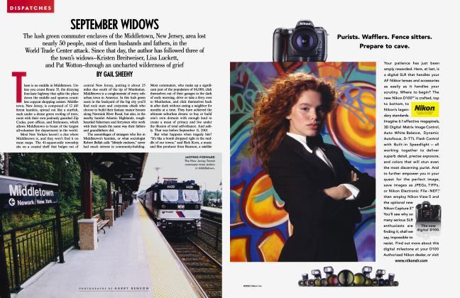 Article Preview: SEPTEMBER WIDOWS, September 2002 2002 | Vanity Fair