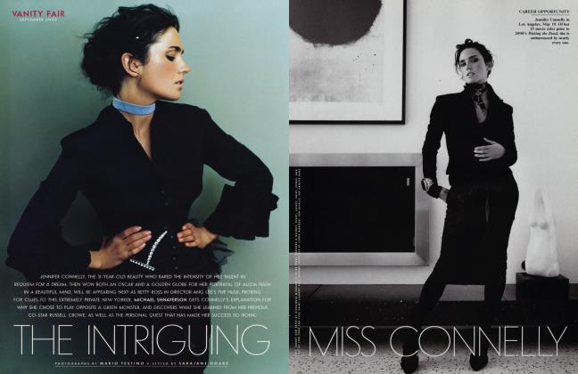 Article Preview: THE INTRIGUING MISS CONNELLY, September 2002 2002 | Vanity Fair