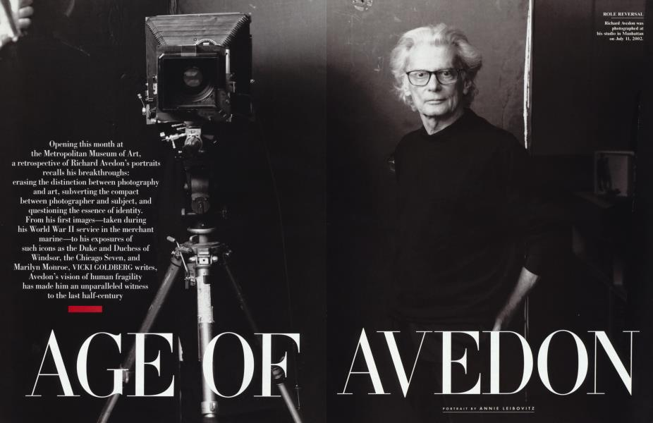 AGE OF AVEDON