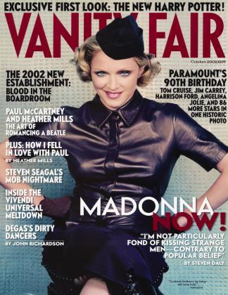 October 2002 | Vanity Fair