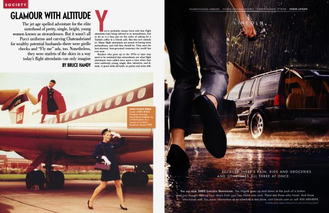 Article Preview: GLAMOUR WITH ALTITUDE, October 2002 2002 | Vanity Fair