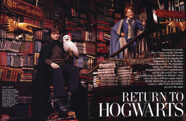 Article Preview: RETURN TO HOGWARTS, October 2002 2002 | Vanity Fair