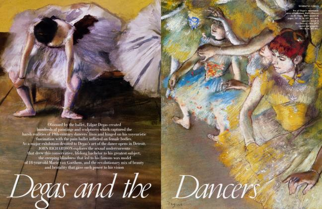 Article Preview: Degas and the Dancers, October 2002 2002 | Vanity Fair